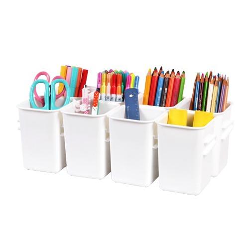 Changsin|連格式生活小物收納盒寬型(8格)