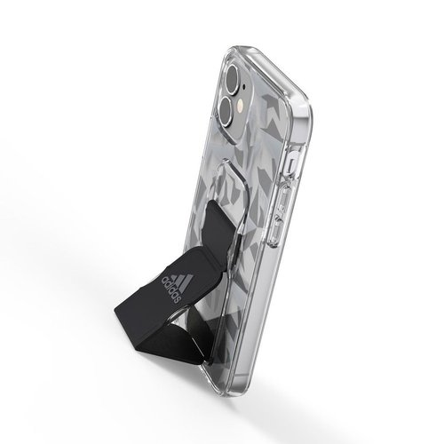 Adidas|iPhone 12 mini Sport 幾何圖形支架 手機殼(黑色)