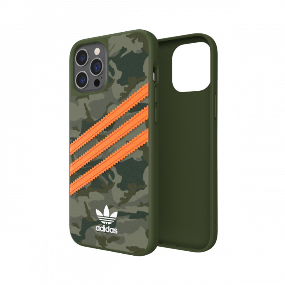 Adidas iPhone 12 Pro Max Originals 經典三線 手機殼(迷彩)