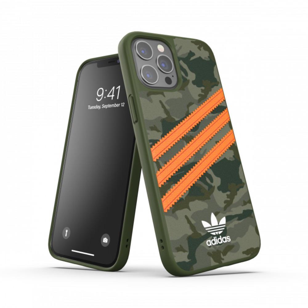 Adidas iPhone 12/12 Pro Originals 經典三線 手機殼(迷彩)