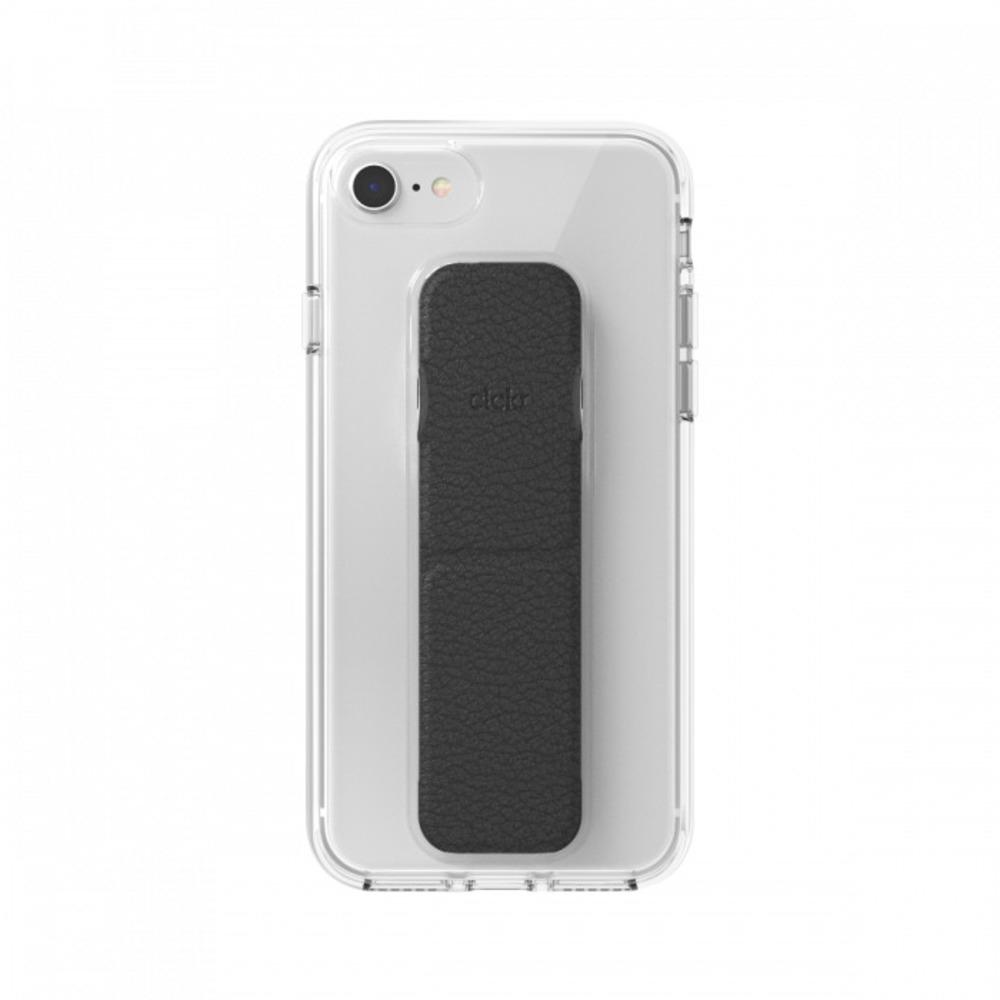 CLCKR|iPhone 6/6s/7/8/SE2  透明支架 手機殼(黑色)