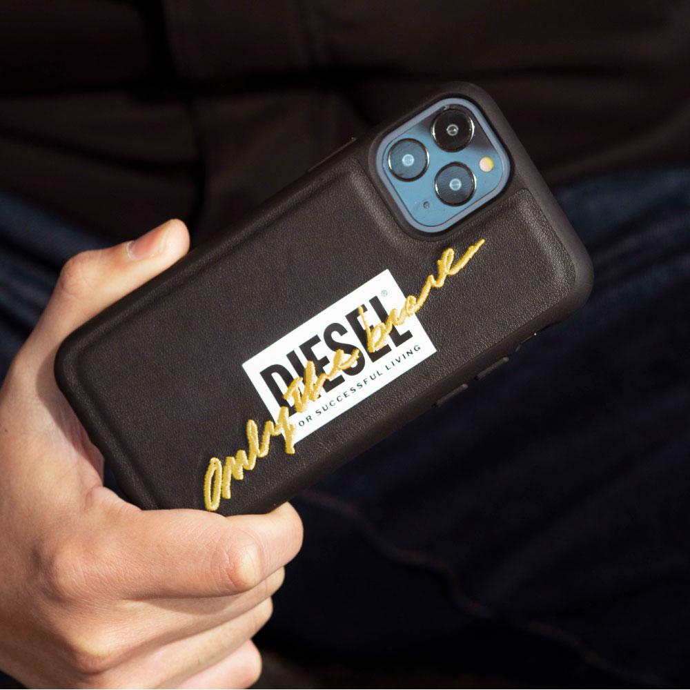 Diesel|iPhone 12 Pro Max 經典刺繡 手機殼