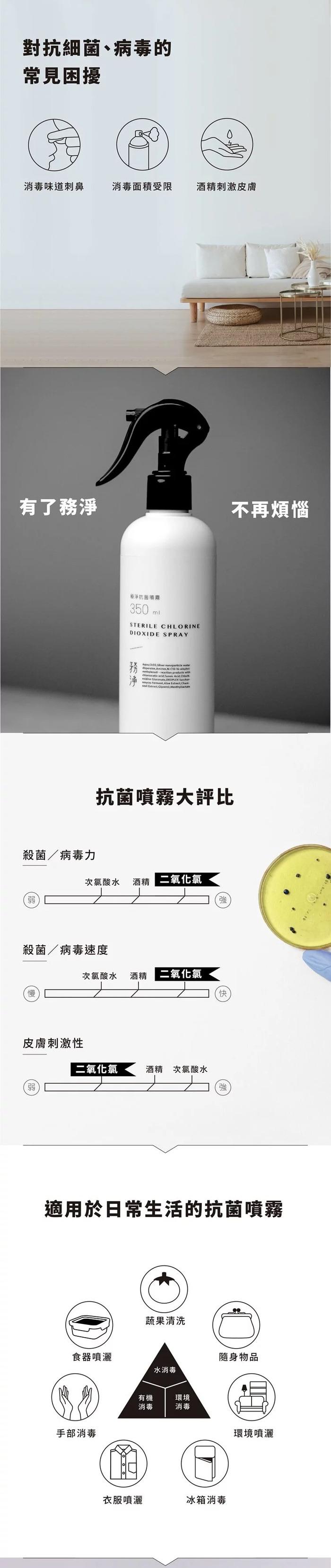 Wu Clean 務淨 抗菌噴霧