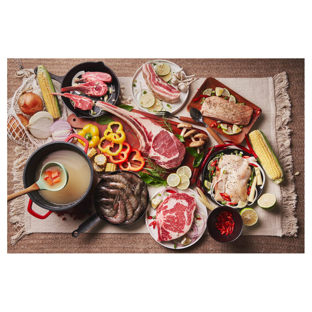 O-Grill 900MT瓦斯烤肉爐+一頭牛日式燒肉組(霸氣海陸饗宴組)