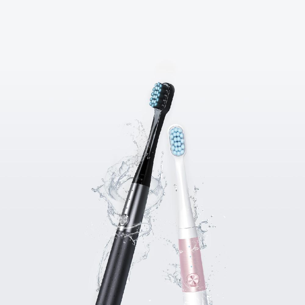 Arpha|藍光亮白電動牙刷+刷頭套組(科技黑)