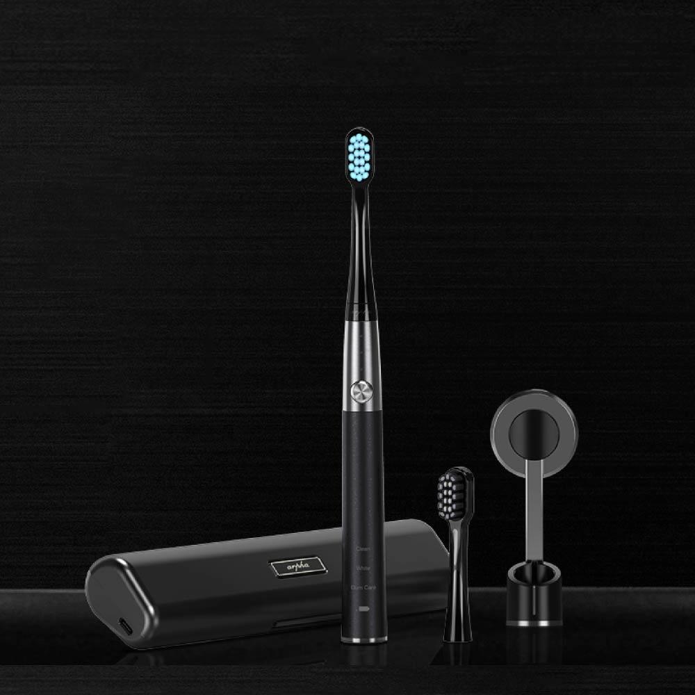 Arpha|口腔護理亮白電動牙刷(科技黑)