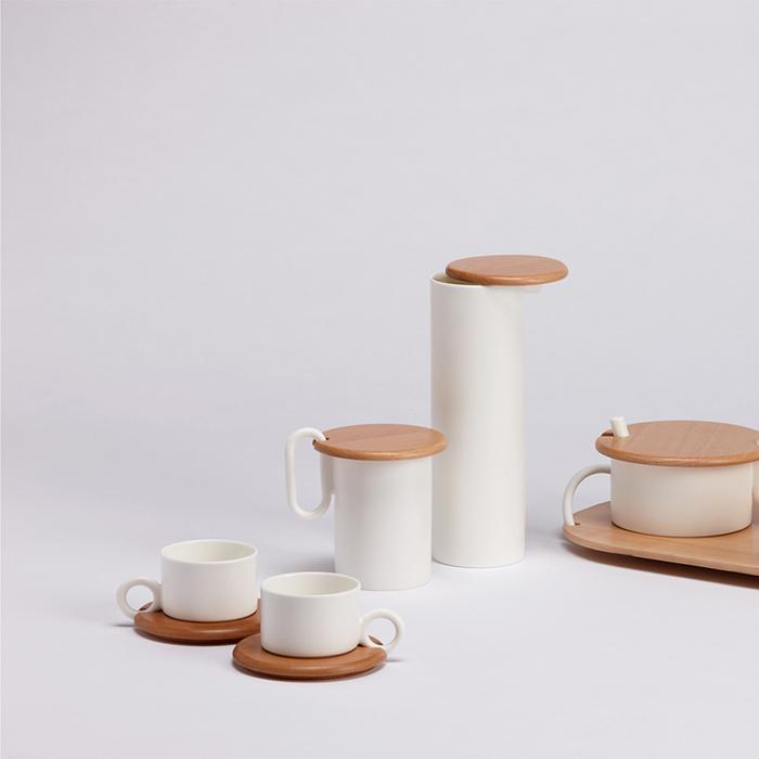 佐藤大Nendo x Zens|PLANK茶杯對組(白)