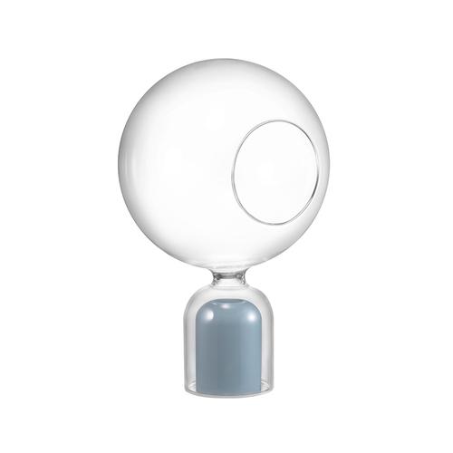 佐藤大Nendo x Zens|玻璃罩搭短花瓶(藍)