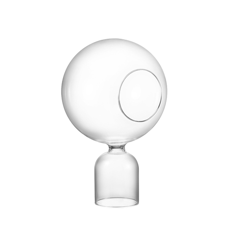 佐藤大Nendo x Zens|玻玻璃罩搭短花瓶(白)