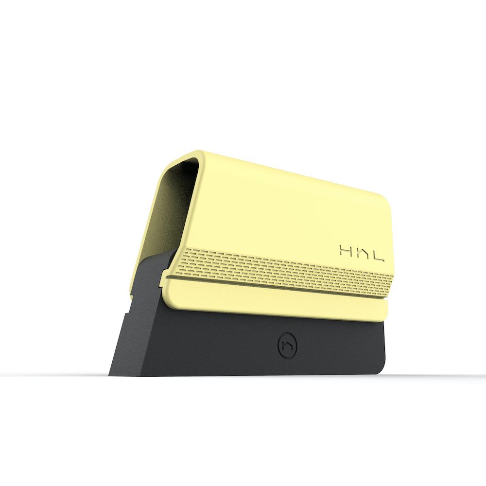 HhL Design|毛毛皂-布面除毛橡皮擦組(檸檬甜酒黃)