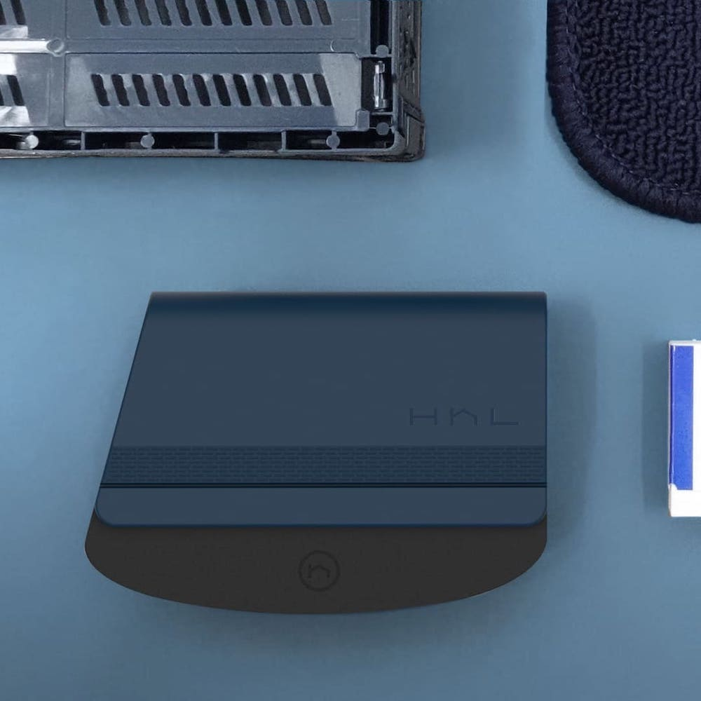HhL Design|毛毛皂-布面除毛橡皮擦組(海軍藍)