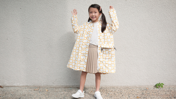 (複製)SweetThing|新・兒童風雨衣(探險綠)