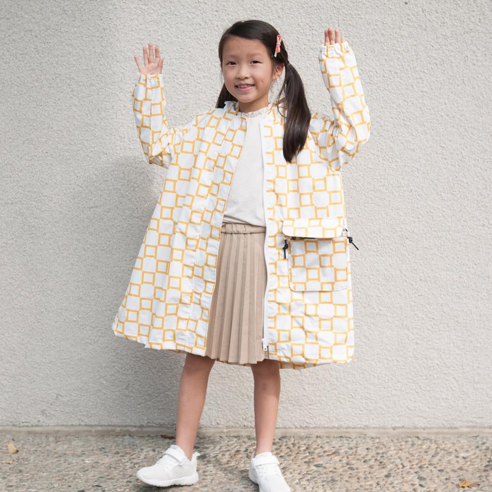SweetThing|新・兒童風雨衣(經典黃格)