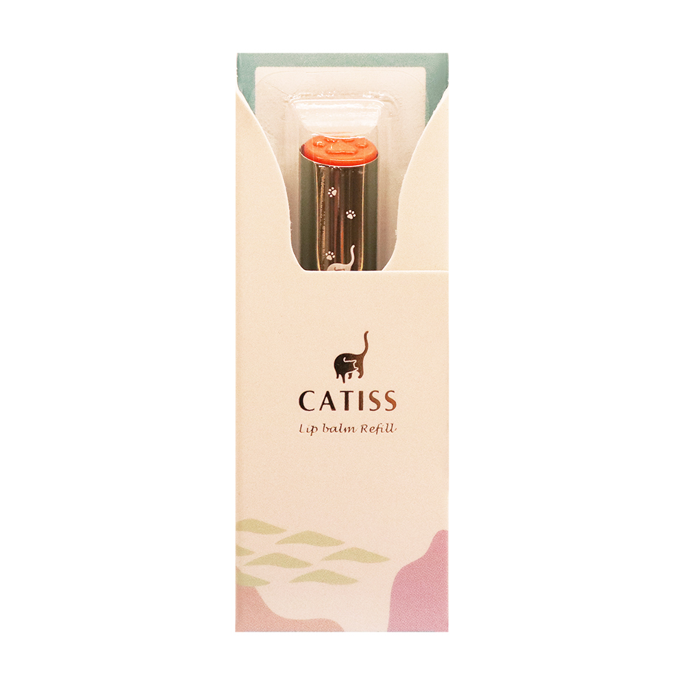 Catiss愷締思 貓掌護唇膏補充蕊-潤色款