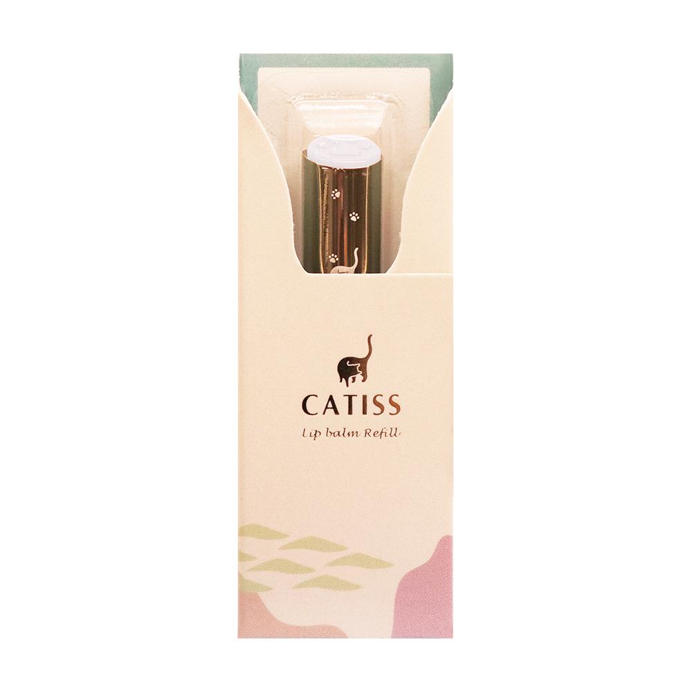 Catiss愷締思|貓掌護唇膏補充蕊-純淨水潤 3g