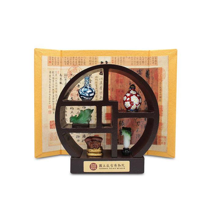(複製)故宮精品|天球瓶菊花蓋罐小櫥窗
