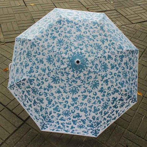 故宮精品|雨過天青晴雨傘