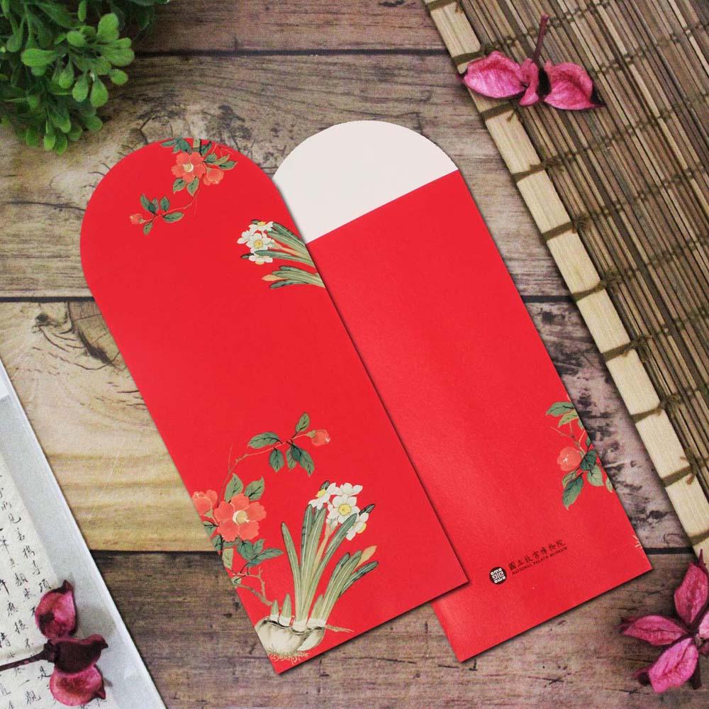 故宮精品 | 凌波知春紅包袋(5入)