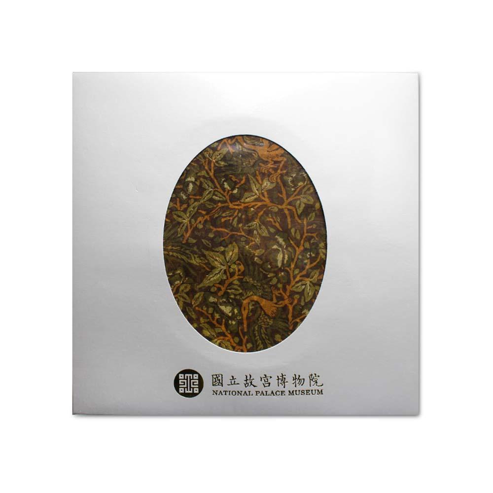 故宮精品   龍鳳呈祥絲巾 (綠)
