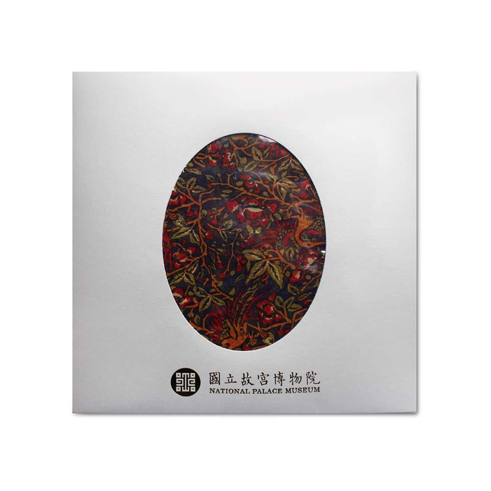 故宮精品 | 龍鳳呈祥絲巾 (紅)