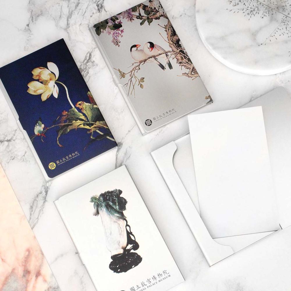 故宮精品|典藏名片盒 紫白丁香