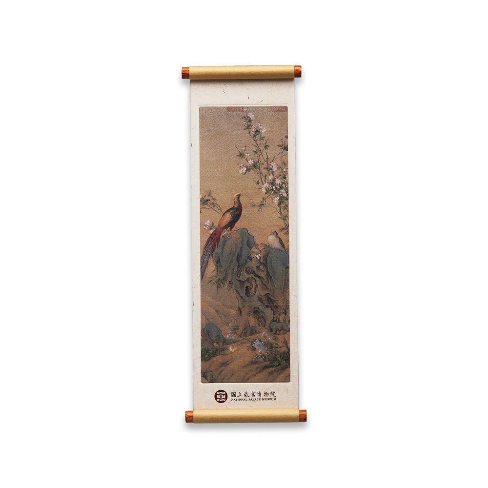 故宮精品|畫錦春圖卷軸磁鐵