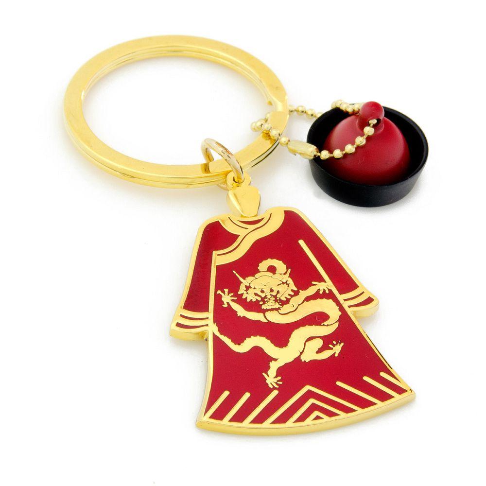 故宮精品|龍袍鎖圈(紅)