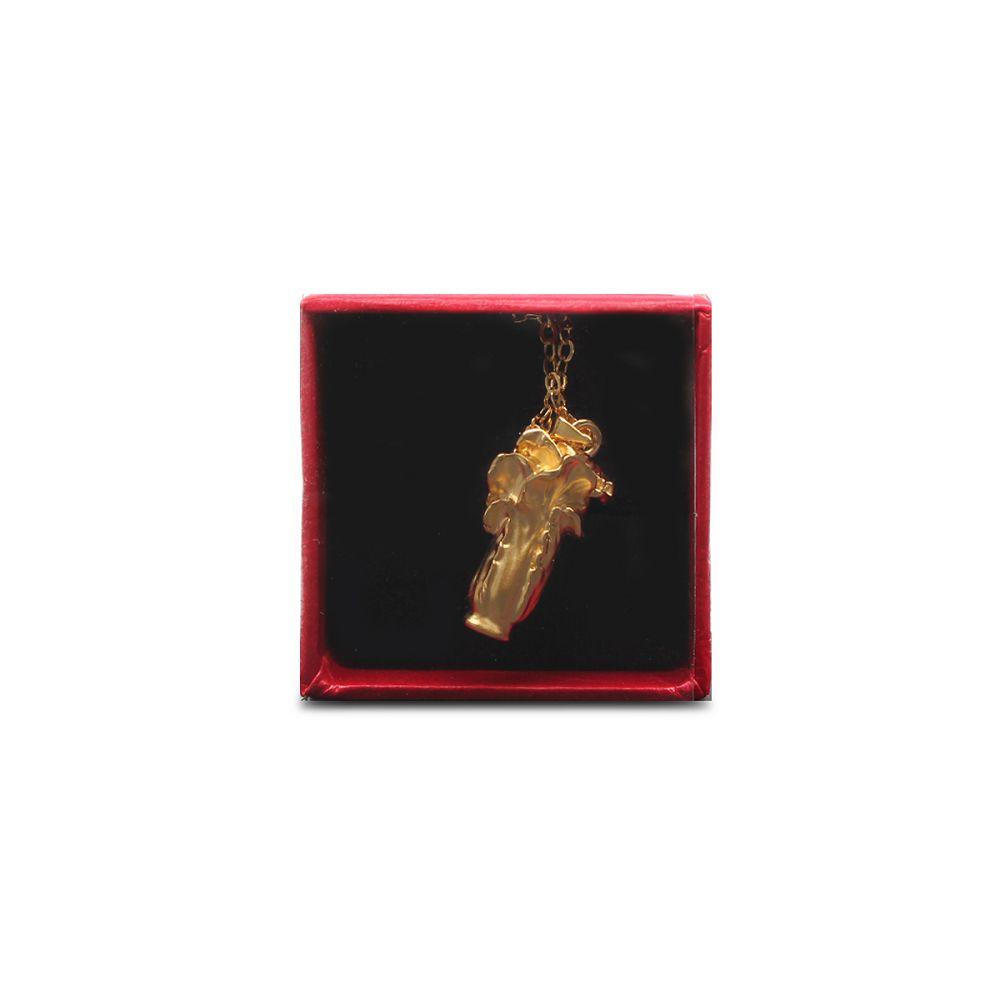 故宮精品|金黃白菜鍊墜