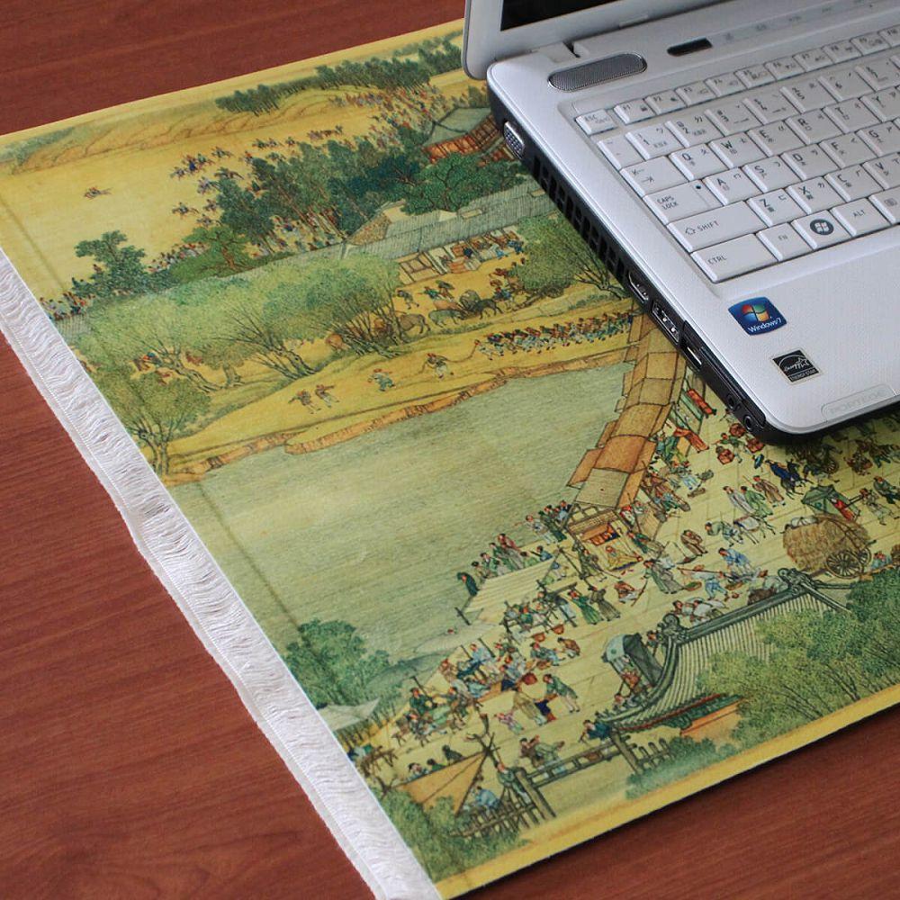 故宮精品|國寶桌墊-清明上河圖