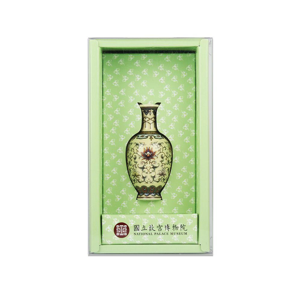 故宮精品|洋彩番花觀音瓶
