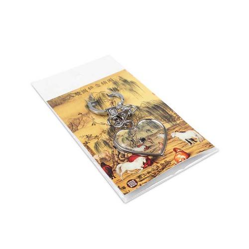 故宮精品 | 八駿馬鏡盒鎖圈