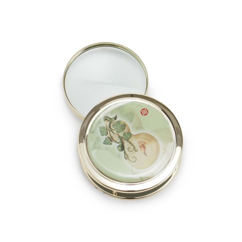 故宮精品   摺疊放大鏡 蒲蘆式盒