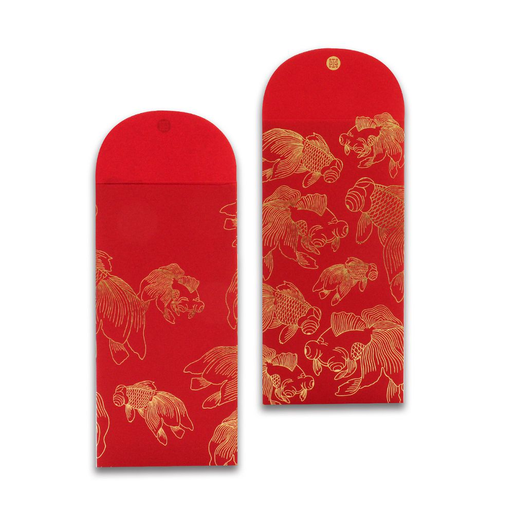 故宮精品 金玉滿堂紅包袋(5入)