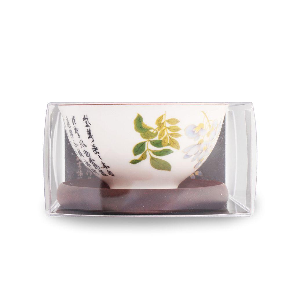 故宮精品 紫藤花個人茶道組