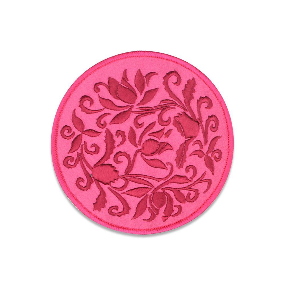 故宮精品|蓮瓣劃花盤杯墊-桃