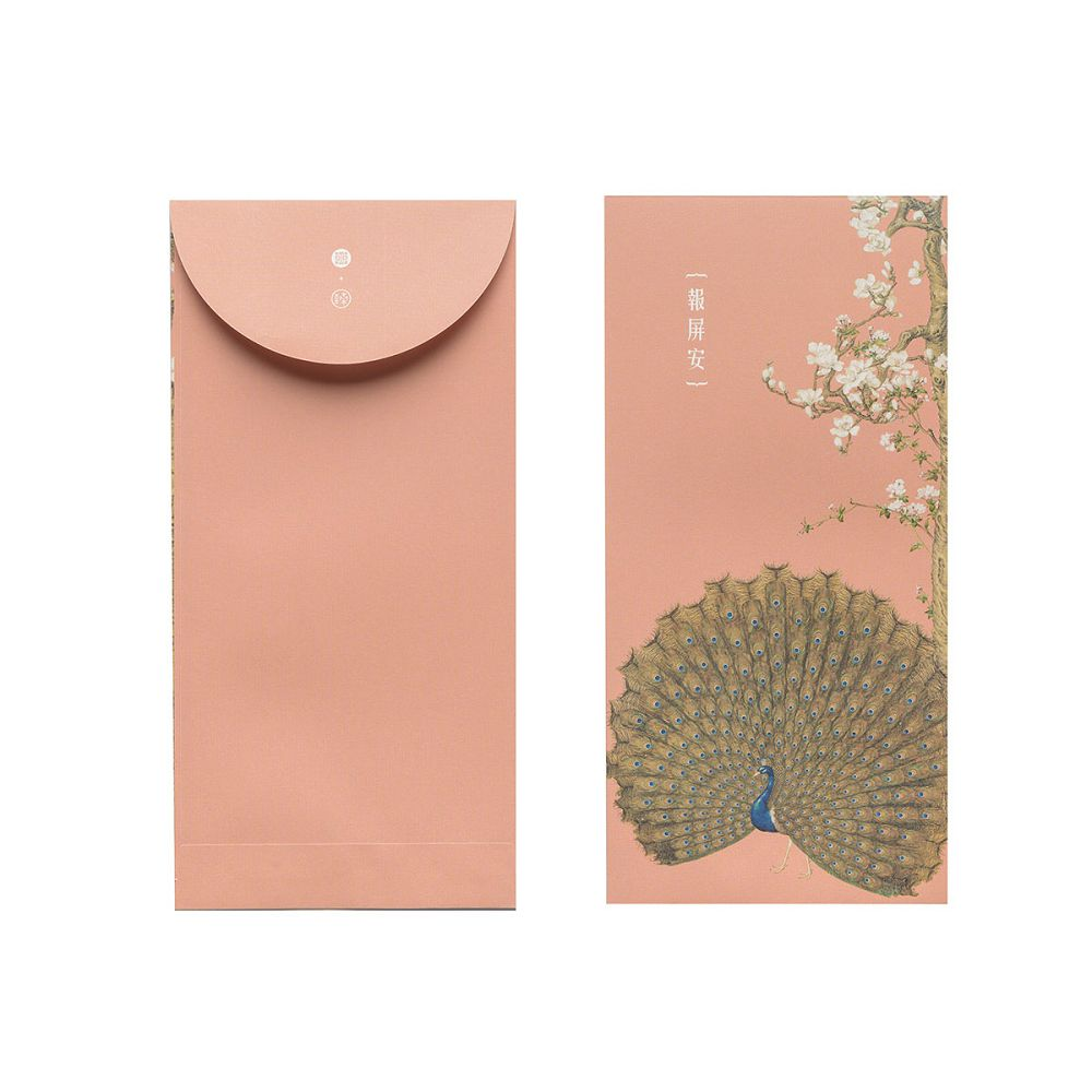 故宮精品 郎世寧系列·報屏安 萬用袋(單色6入)