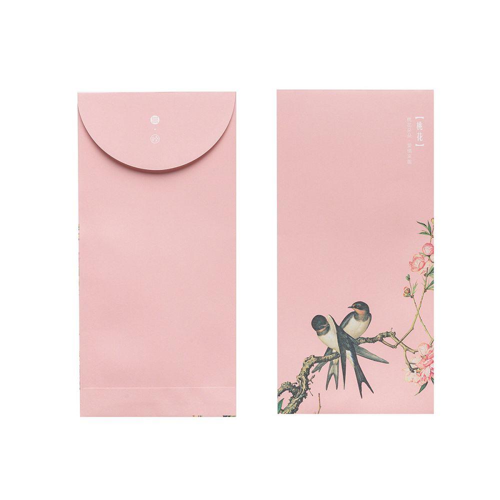 故宮精品|仙萼長春·桃花 萬用袋(單色6入)
