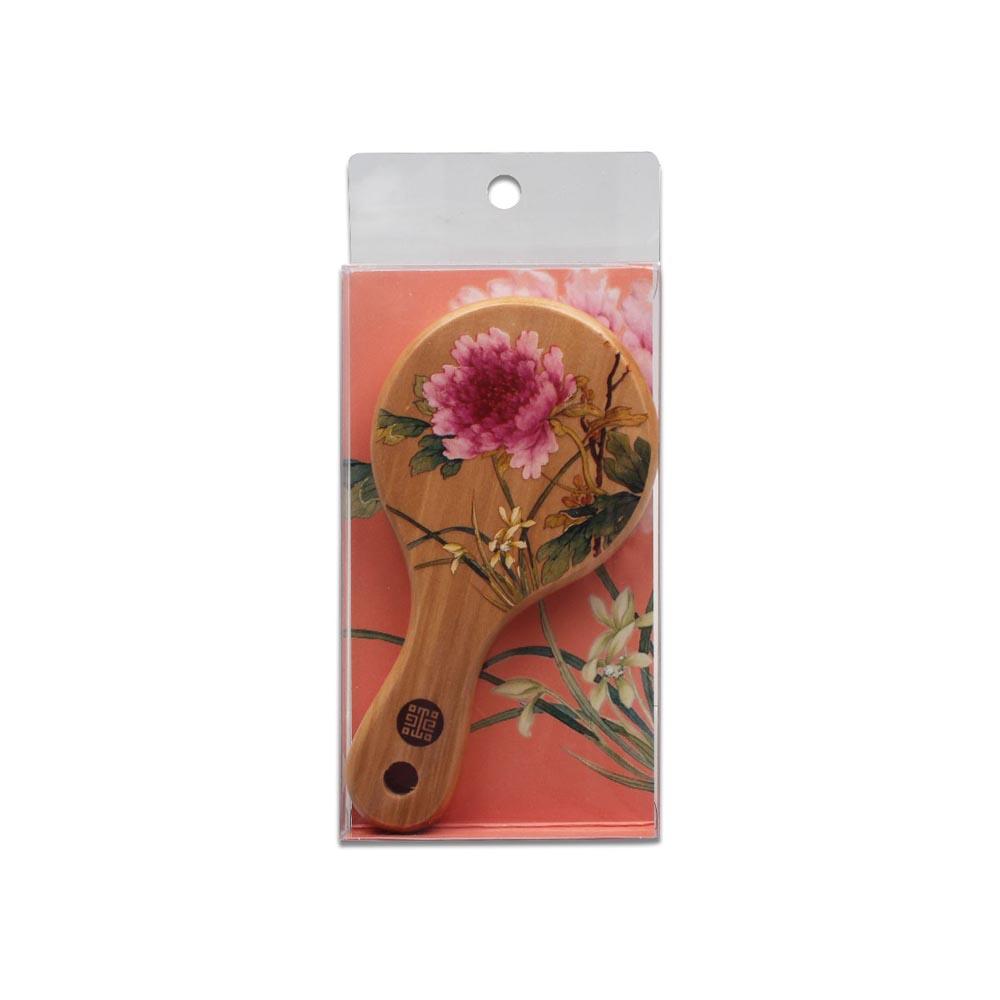 故宮精品 | 滿庭芳小鏡蘭花牡丹