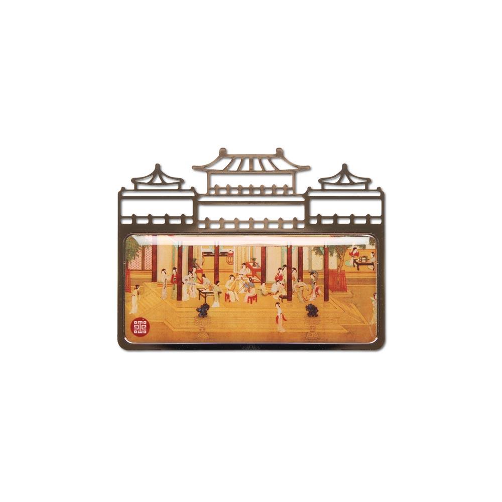 故宮精品 | 故宮名畫磁鐵-漢宮春曉