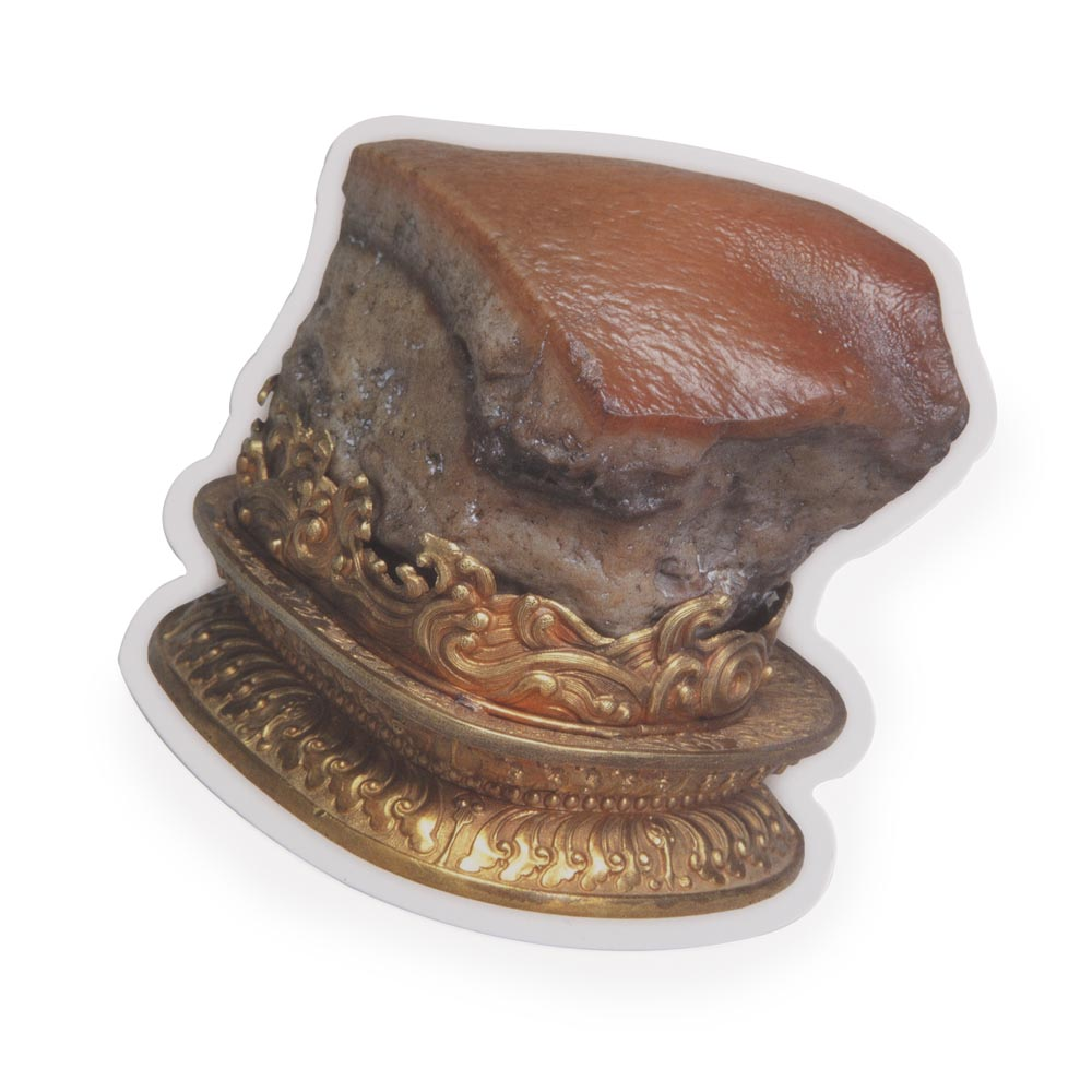 故宮精品 | 造型明信片-肉形石