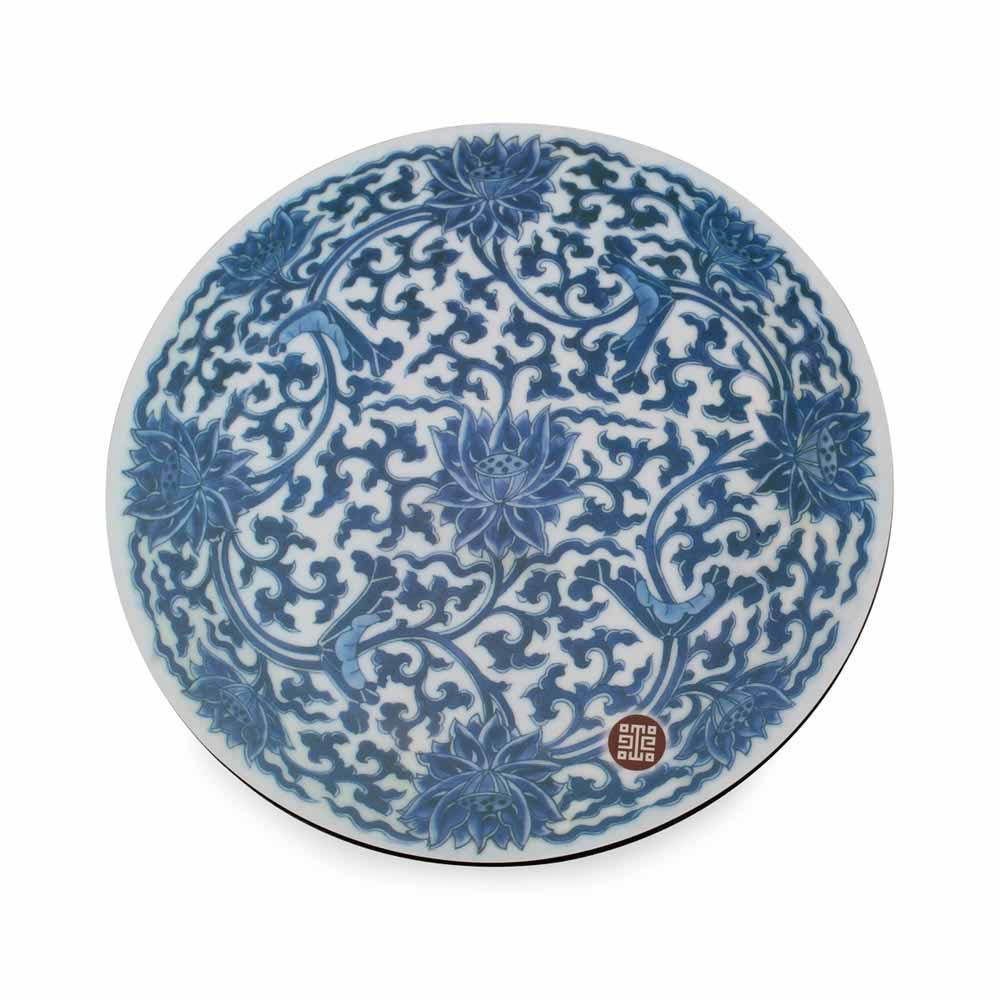 故宮精品   瓷圖桌墊-青花