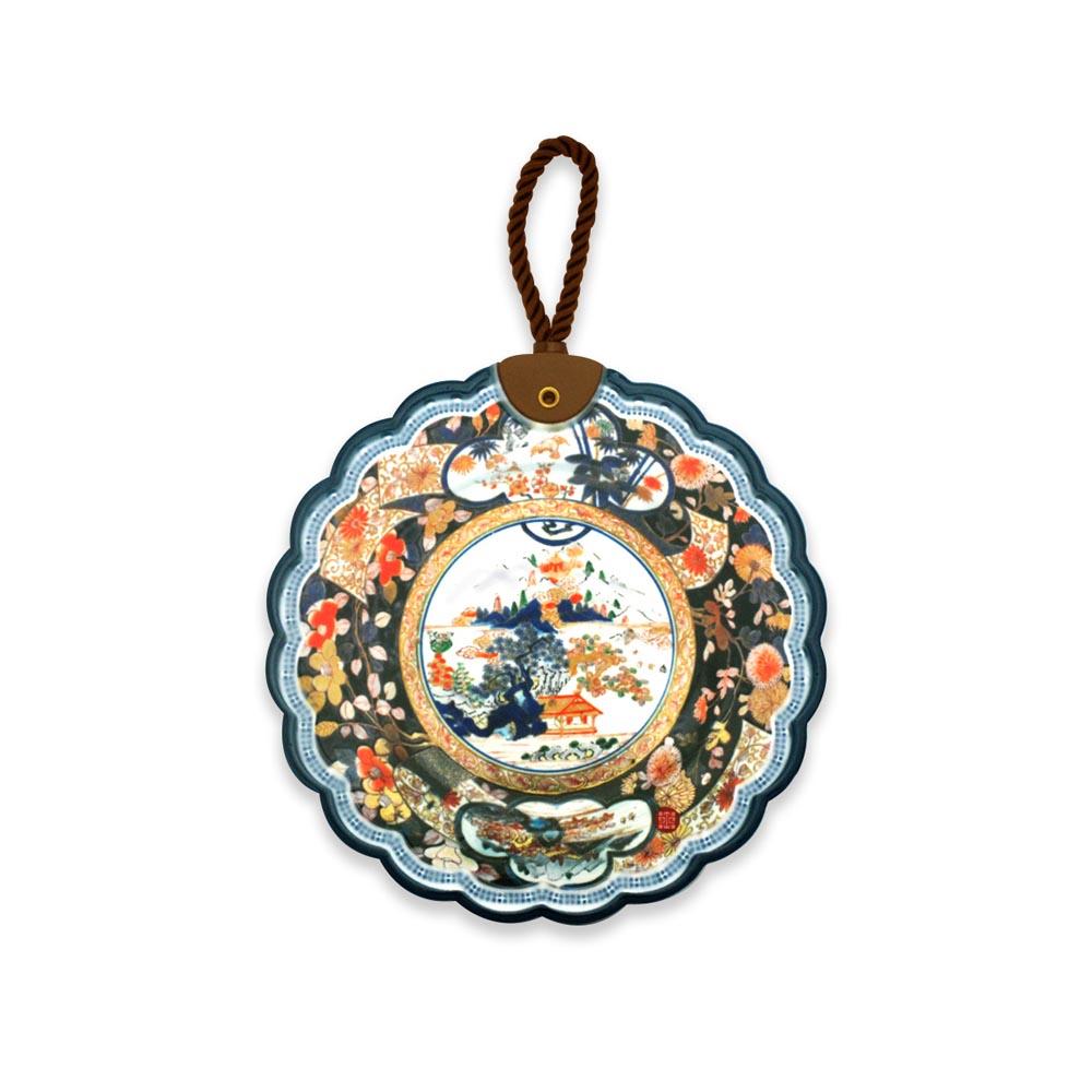 故宮精品 | 陶瓷隔熱墊花卉山水