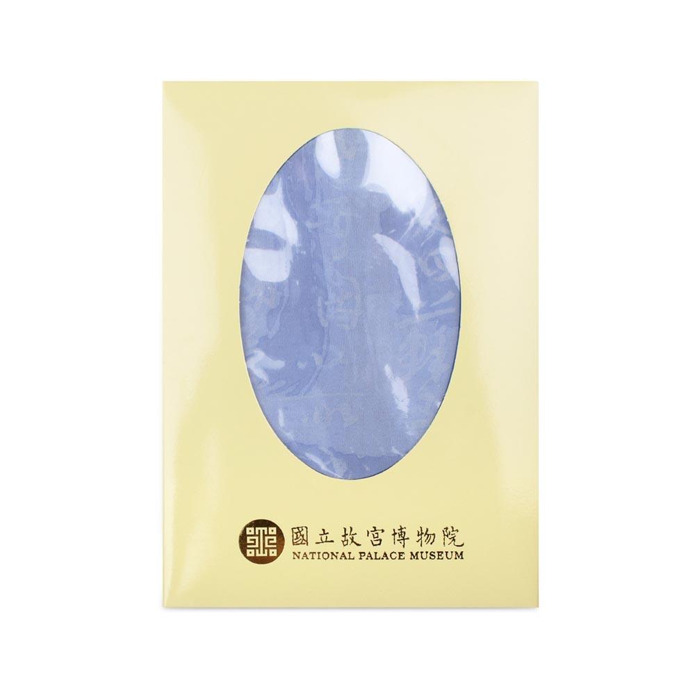 故宮精品 | 書法絲巾紗 (淺藍)