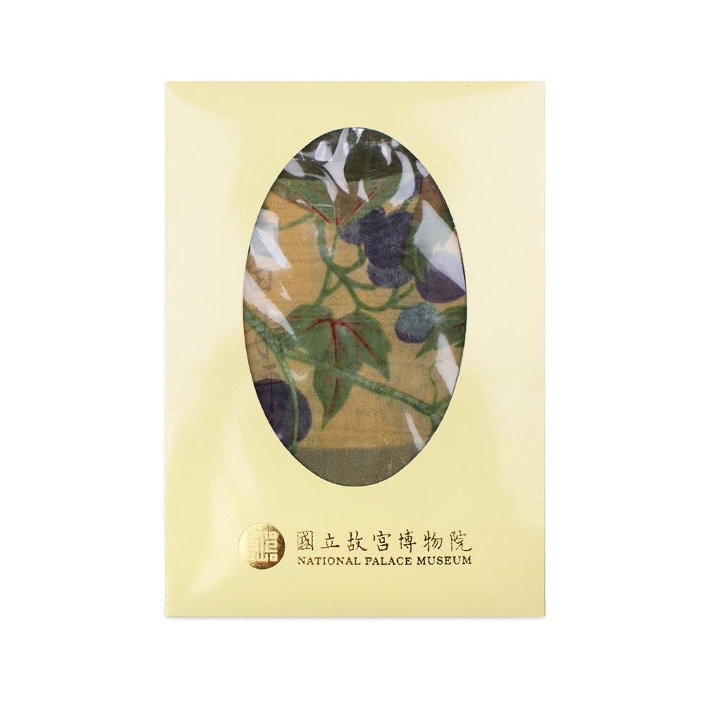 故宮精品   垂蔓葡萄絲巾