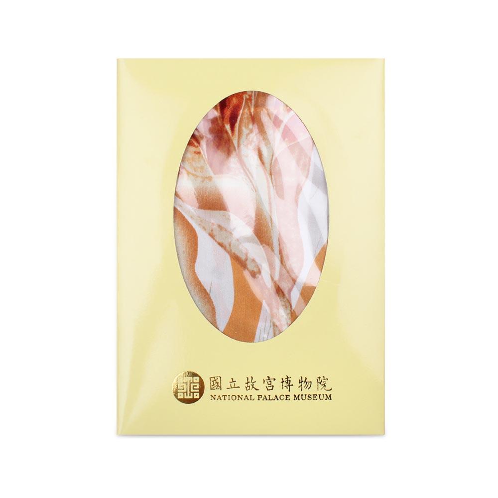 故宮精品 | 白玉簪絲巾緞 (金黃)