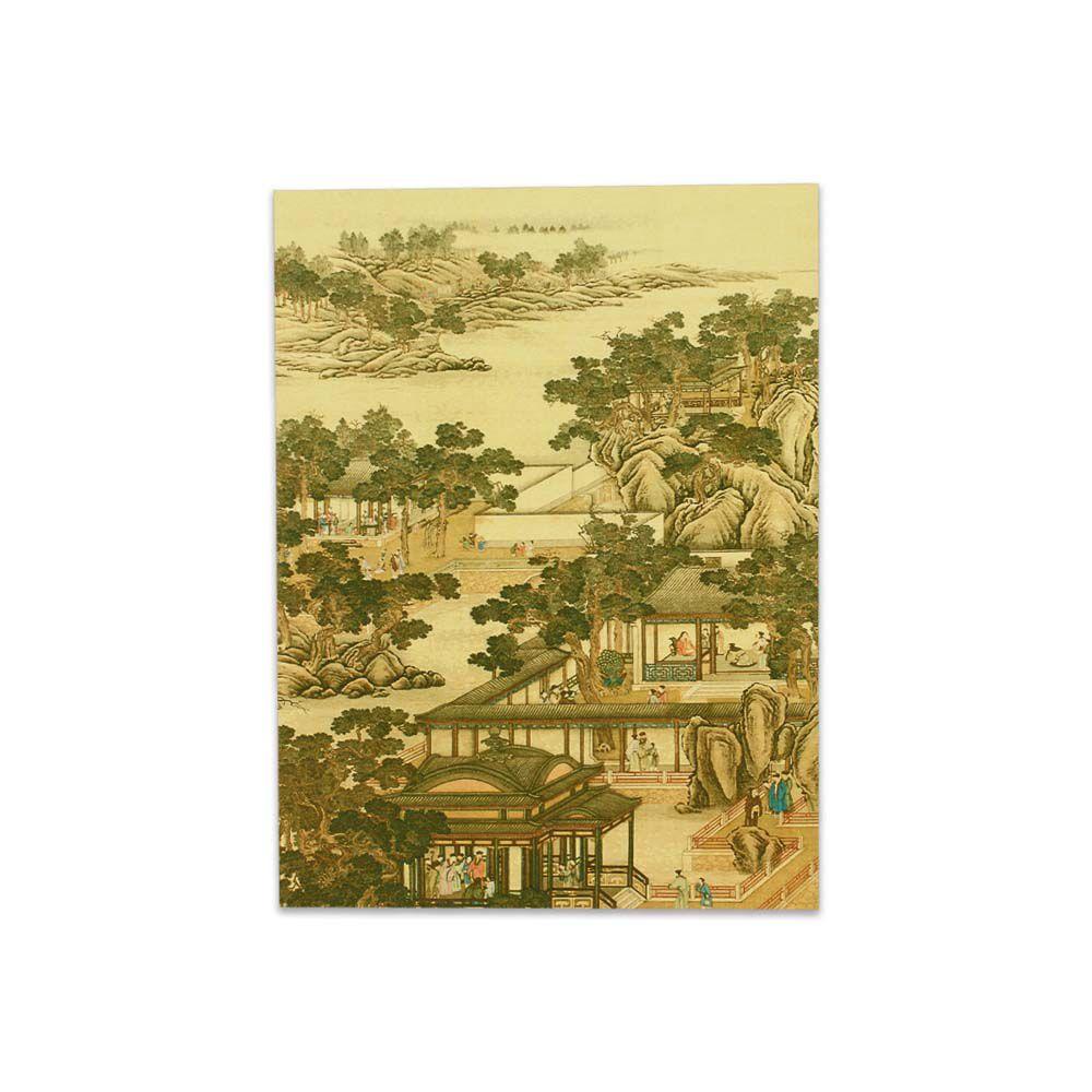 故宮精品   明信片-十二月月令圖 十一月