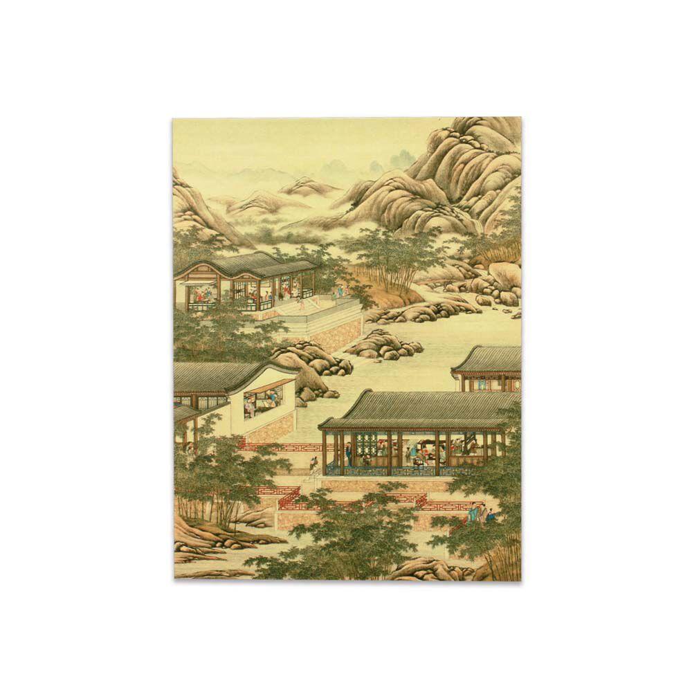 故宮精品 | 明信片-十二月月令圖 十月