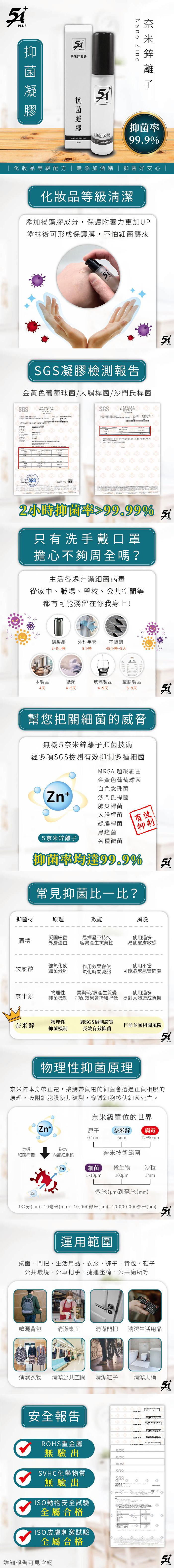 (複製)MuShui|5A+ 奈米鋅離子 長效抗菌噴液 60ml