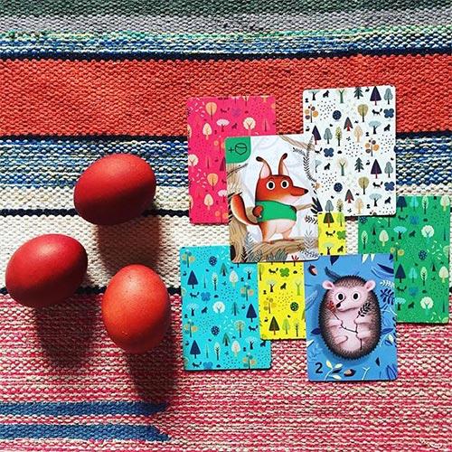 simple rules 松鼠取堅果與洗襪子組合桌遊