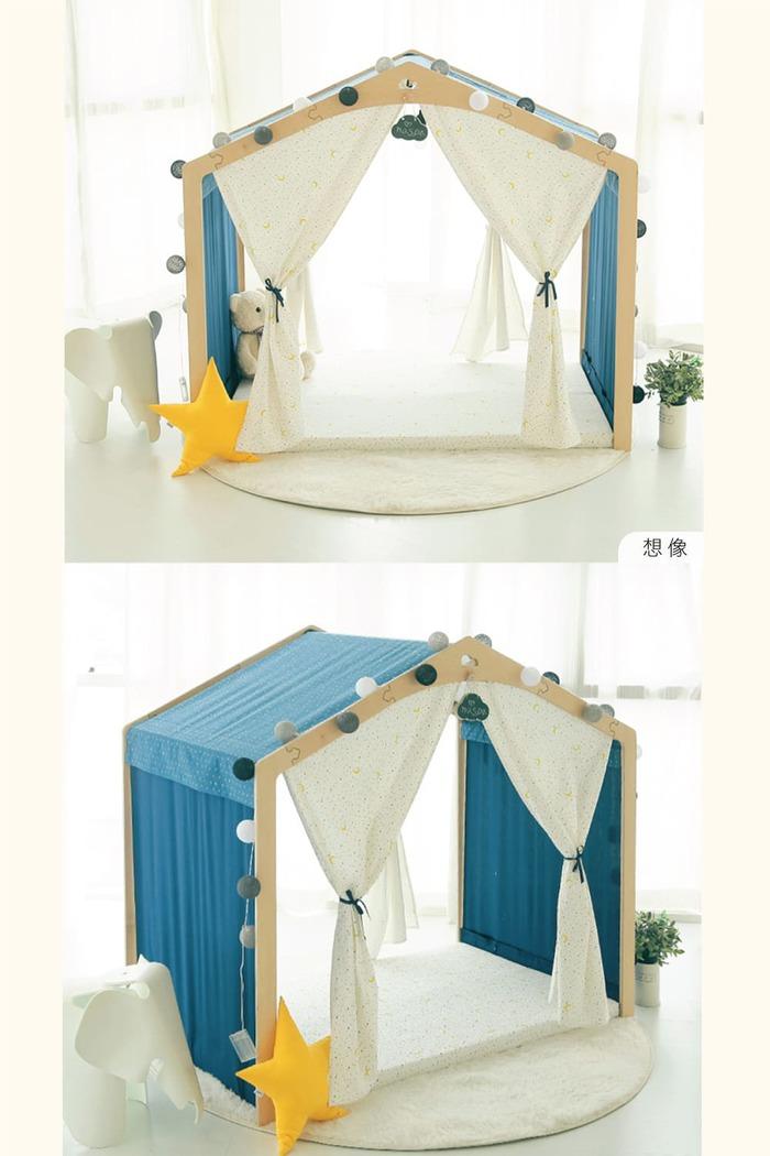 Naspa|韓國手工製作頂級樺木BONO遊戲屋/加大型-想像